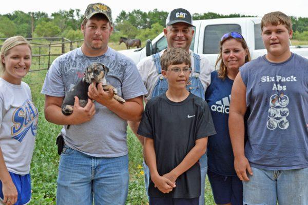 Beau Stewart family & friends BXB 5-18-13 pup