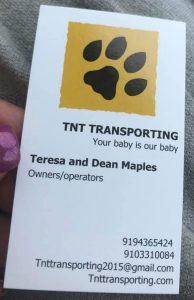 TNT Transporting